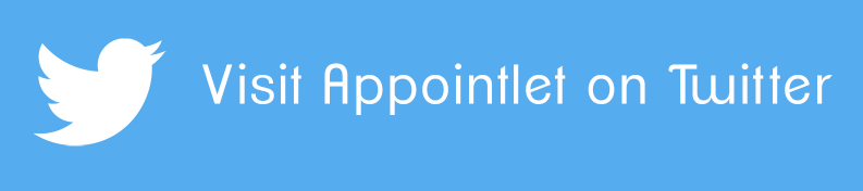 Visit appointlet on twitter